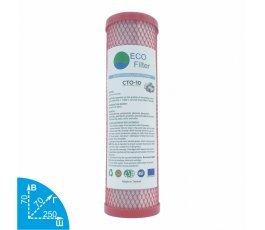 Ecofilter CTO-10 угольный картридж VodaVozduh