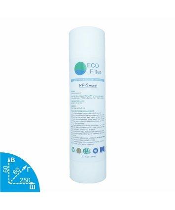 Ecofilter PP-5 полипропиленовый картридж VodaVozduh