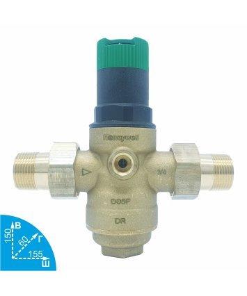 Honeywell D06F-3/4B редуктор давления горячей воды
