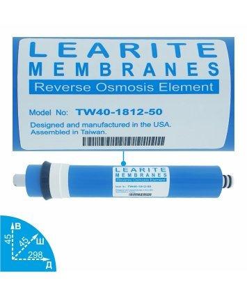 Learite TW40-1812-50 мембрана обратного осмоса Vodavozduh