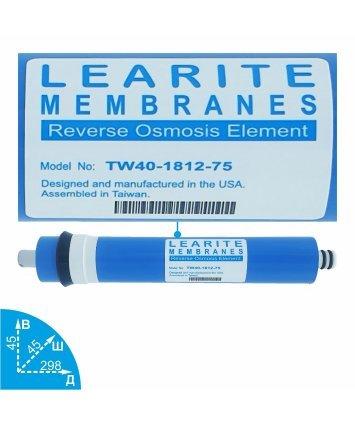Learite TW40-1812-75 мембрана обратного осмоса Vodavozduh