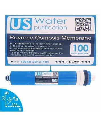 US Water TW40-2012-100 мембрана обратного осмоса Zepter