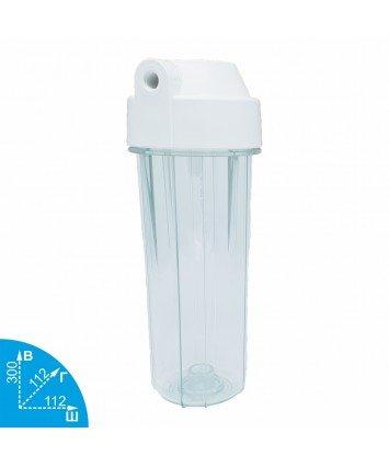 Aquafilter EG14CWAQ-4 1/4ВР прозрачный корпус к фильтру