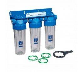 Aquafilter FHPRCL34-B-TRIPLE магистральный фильтр 6 Bar