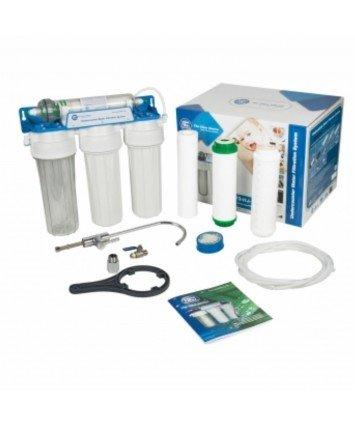 Aquafilter FP3-HJ-K1 4 ступенчатый проточный питьевой фильтр под мойку