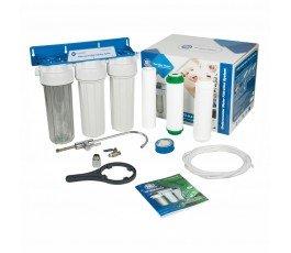 Aquafilter FP3-K1 тройной фильтр под мойку VodaVozduh