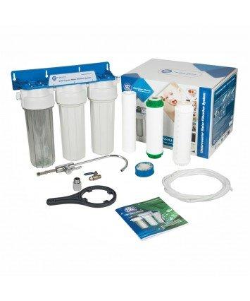 Aquafilter FP3-K1 3 ступенчатый проточный питьевой фильтр под мойку