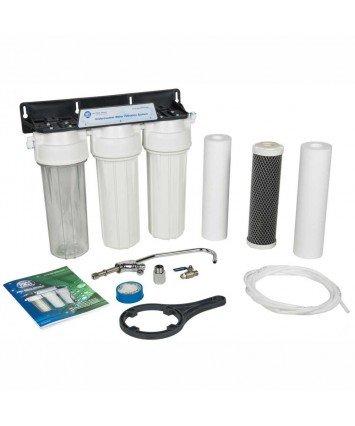Aquafilter FP3-2 3 ступенчатый проточный питьевой фильтр под мойку