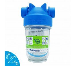 ATLAS filtri DP 5 Mono 1/2 магистральный фильтр 8 Bar