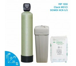 Умягчитель воды Clack 1035 Dowex 1-1,5м3 в час