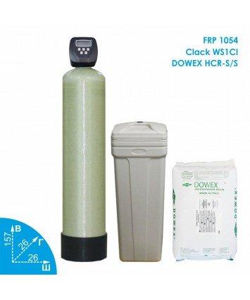 Умягчитель воды Clack 1054 Dowex 1,2-2,0м3 в час Vodavozduh