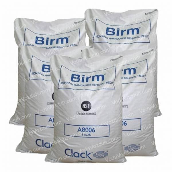 Clack Birm A8006 каталитическая загрузка в фильтры для очистки воды от соединений железа и марганца 25кг, (США)