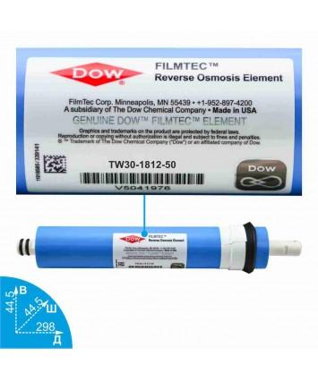 Мембрана Filmtec TW30-1812-50 50 GPD
