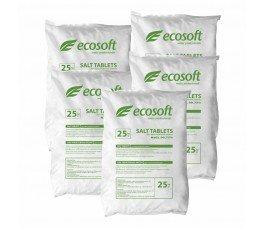 Соль таблетированная Ecosoft Ecosil Украина, мешок 25 кг.