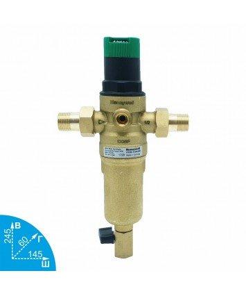 Honeywell FK06-1/2AAM промывной фильтр с редуктором для горячей воды