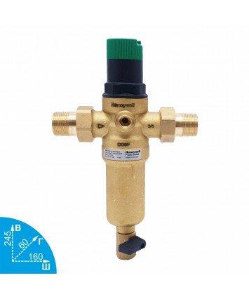 Honeywell FK06-3/4AAM промывной фильтр для горячей воды с редуктором