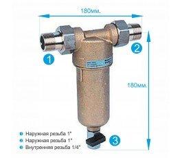 Honeywell FF06-1AAM промывной магистральный фильтр колба для горячей воды