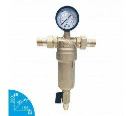 """Karro KR 88043 1/2"""" промывной фильтр для холодной и горячей воды"""