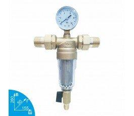 """Karro KR88044 3/4"""" промывной фильтр для холодной воды"""