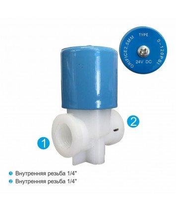 YCWS1 нормально-закрытый соленоидный клапан для фильтров обратного осмоса