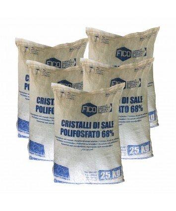 FICO соль полифосфат натрия 25 кг для предотвращения образования накипи