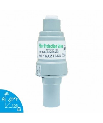 Organic FPV-0104-125 редуктор давления воды - 8,6 Bar
