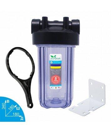"""Purotek Big Blue 10"""" Clear - магистральный фильтр для холодной воды"""