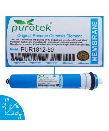 Purotek PUR1812-50 мембрана обратного осмоса