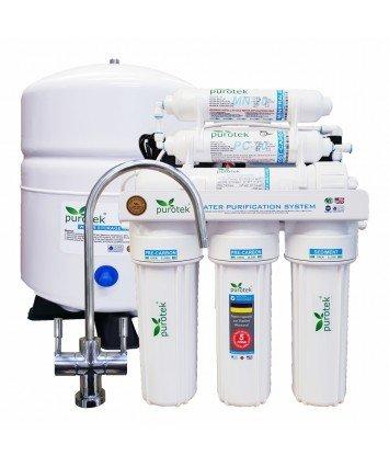 Purotek RO-6100P обратный осмос с помпой и минерализатором
