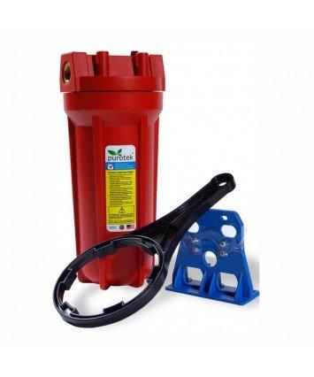 Purotek 2PHOT1/2 усиленный магистральный фильтр колба для горячей воды
