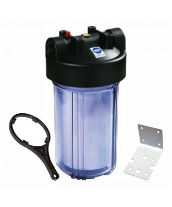 """Raifil PS 897C1-BK1-PR Big Blue 10"""" усиленный магистральный фильтр колба для холодной воды"""