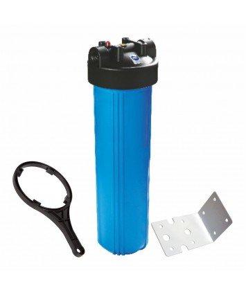 """Raifil PS 898B1-BK1-PR Big Blue 20"""" усиленный магистральный фильтр колба для холодной воды"""