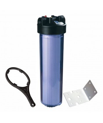 """Raifil PS898C1-BK1-PR-BN Big Blue 20"""" усиленный магистральный фильтр колба для холодной воды"""