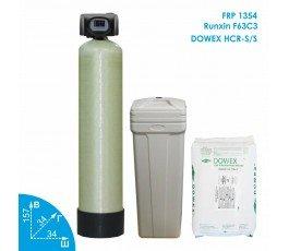 Умягчитель воды Runxin 1354 Dowex 2,3-3м3 в час