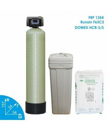 Умягчитель воды Runxin 1354 Dowex 2,3-3м3 в час Vodavozduh