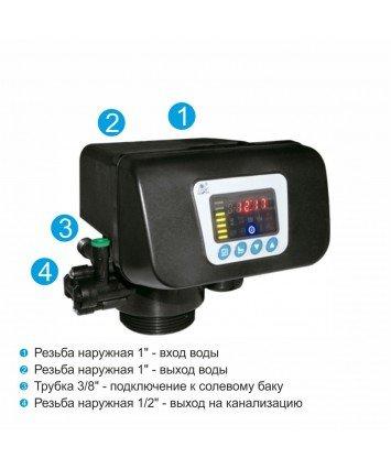 Runxin F63C3 клапан управления систем умягчения воды и удаления железа