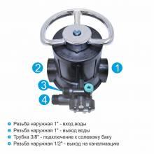 Runxin F64A1 ручной клапан управления водоподготовкой