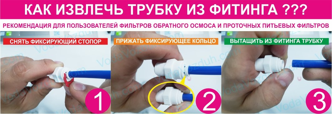 Aquafilter A4MC0406 фитинг к фильтру для воды