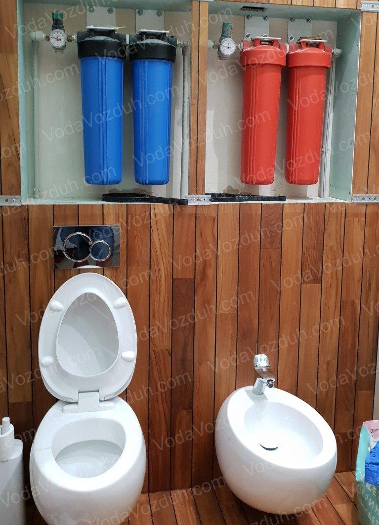 Монтаж фильтров для воды Киев