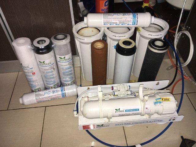 Мелкий ремонт фильтра для воды
