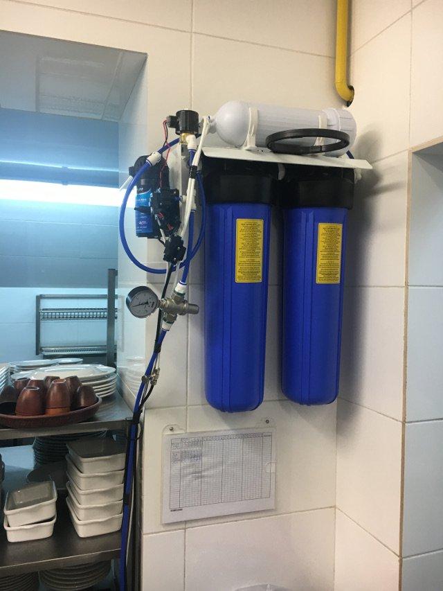 Обслуживание системы водоподготовки