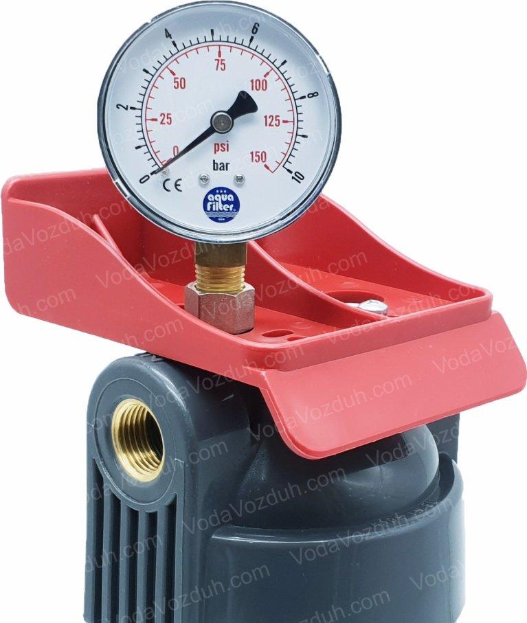 Aquafilter FHHOT12-WB фильтр с манометром
