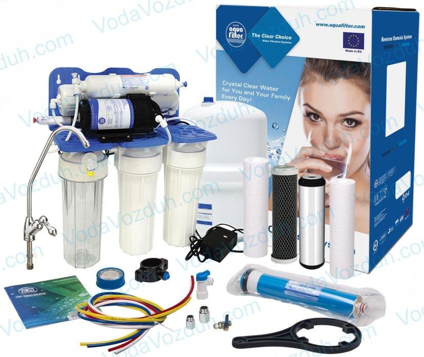 Aquafilter RP-RO5-75 RP55145616 с помпой