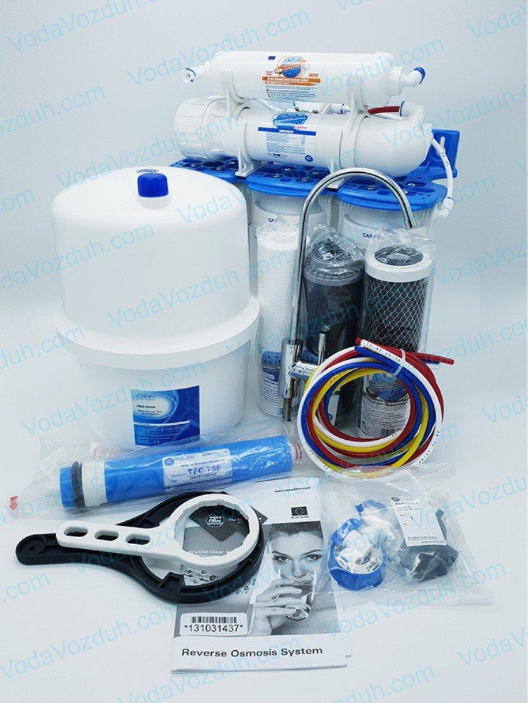 Обратный осмос Aquafilter 5 ступеней