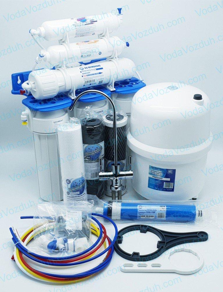Обратный осмос Aquafilter 6 ступеней