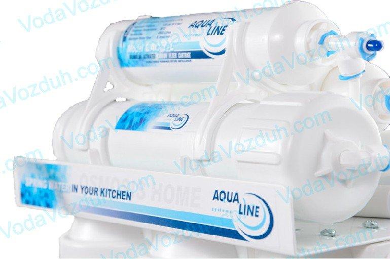 Aqualine обратный осмос с помпой