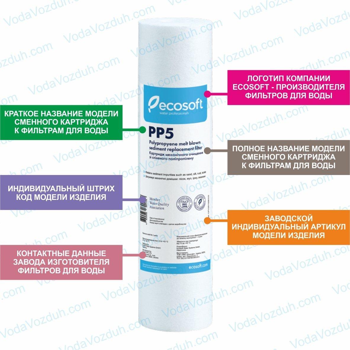 Ecosoft PP5 CPV25105ECO картридж
