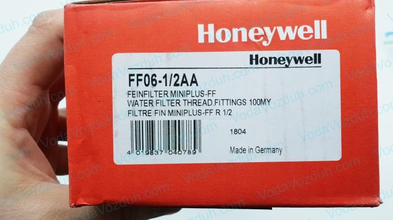 Honeywell FF06-1/2AA промывной фильтр для воды