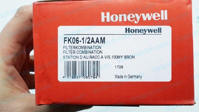 Honeywell FK06-1/2AAM промывной фильтр с редуктором