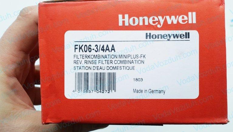 Honeywell FK06-3/4AA промывной фильтр с редуктором